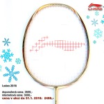 Badmintonová raketa LI-NING TURBOCHARGING 9 TD GOLD LTD
